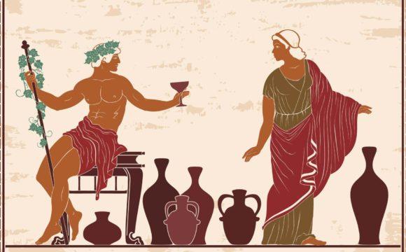 Os mitos sobre varizes e Dionisio na Grecia antiga