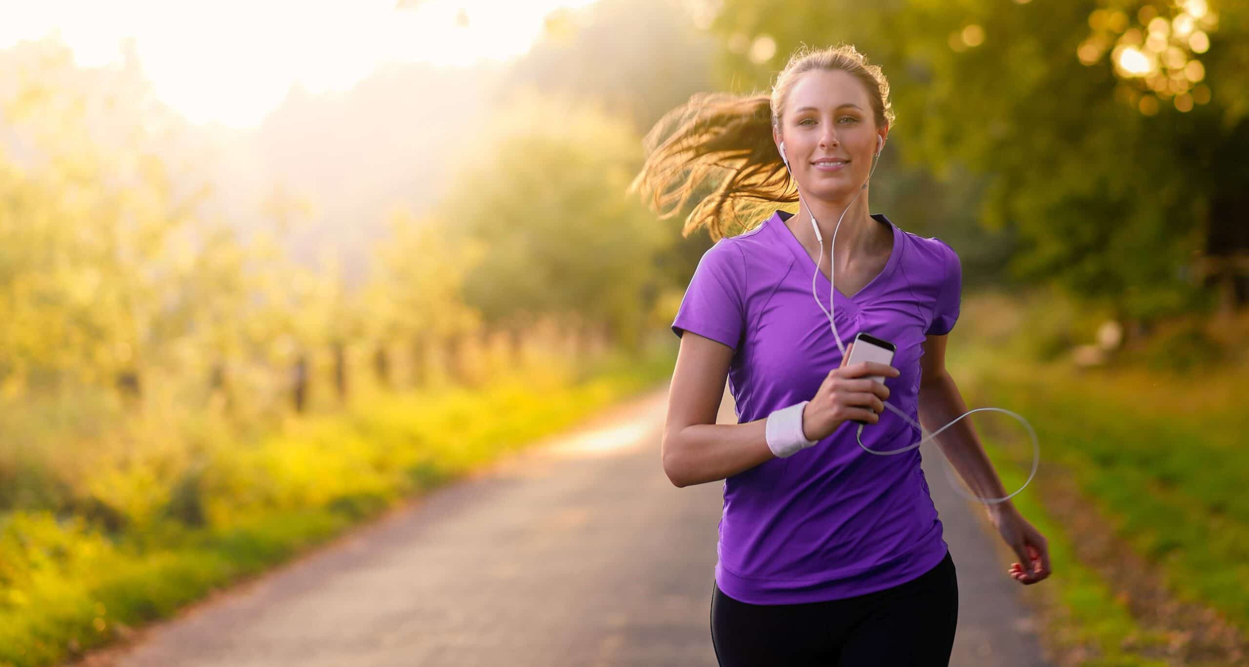 Correndo com saude e alegria